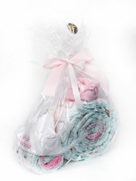 Windelschneck rosa für Mädchen