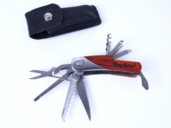 Taschenmesser personalisiert Lasergravur