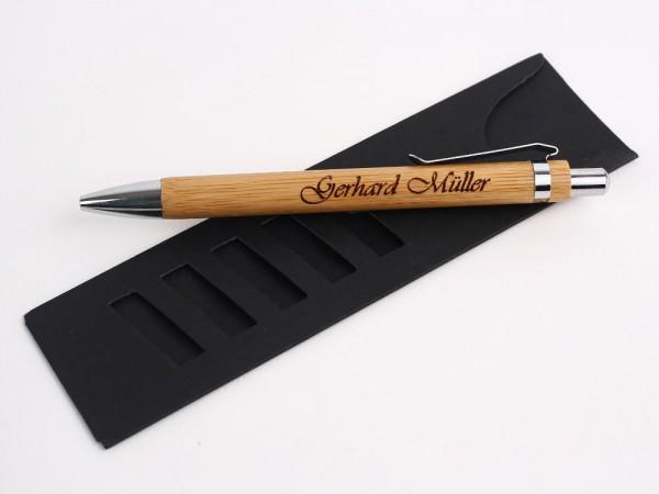 Kugelschreiber personalisiert im Etui