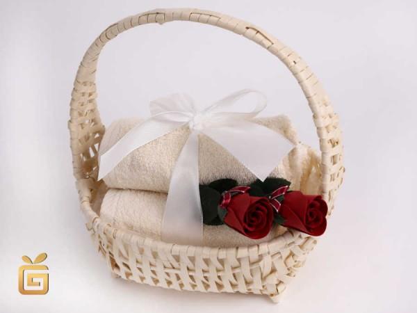 Geschenkkorb Gaestetuecher klein