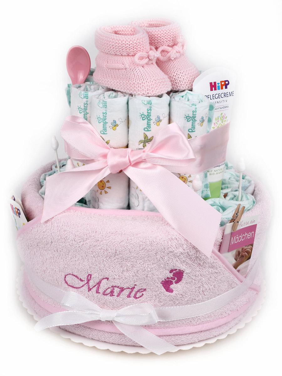 Windeltorte Mädchen Mit Namen Dein Geschenk