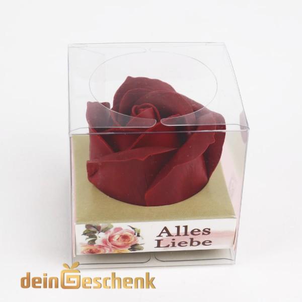 Liebesgeschenk - schenke eine Rote Rose mit Wunsch deiner Freundin