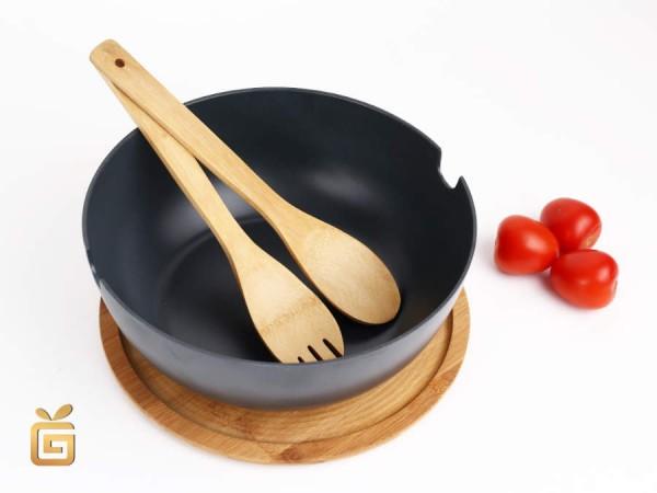 Salatschüssel Set Bambus 4tlg