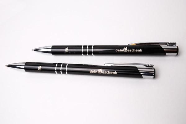 Kugelschreiber Channel mit Namen