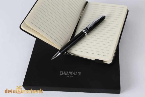 Notizblock mit Kugelschreiber Geschenkset