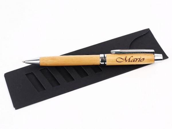 Drehkugelschreiber mit Namensgravur Mario